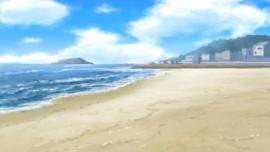 七里ヶ浜・浜辺